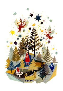 Elsa Klever Illustration Mixed Postcards