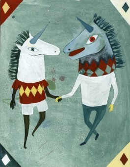 Elsa Klever Illustration Unicorns