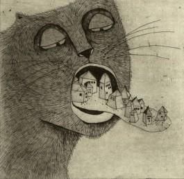 Elsa Klever Illustration Etchings