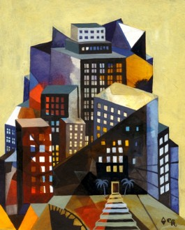 Elsa Klever Illustration Buildings