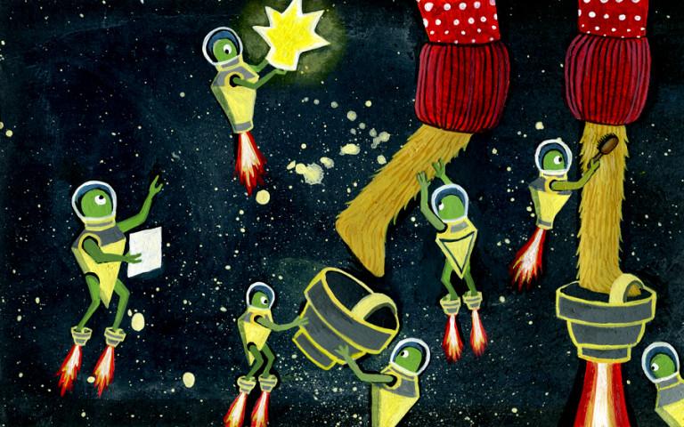 Elsa Klever Illustration Space