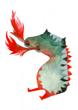 Elsa Klever Illustration Fire
