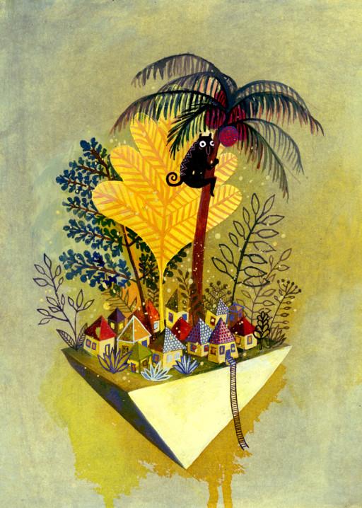 Elsa Klever Illustration Mundo Azul