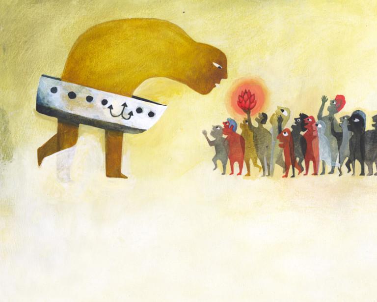 Elsa Klever Illustration Gras Osten Egal