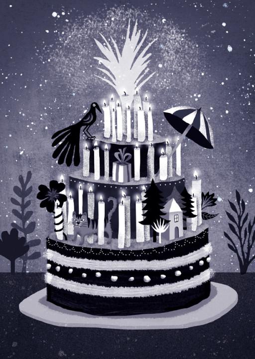Elsa Klever Illustration Happy Birthday