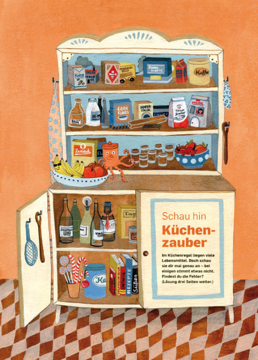 Elsa Klever Illustration KINDER Magazine