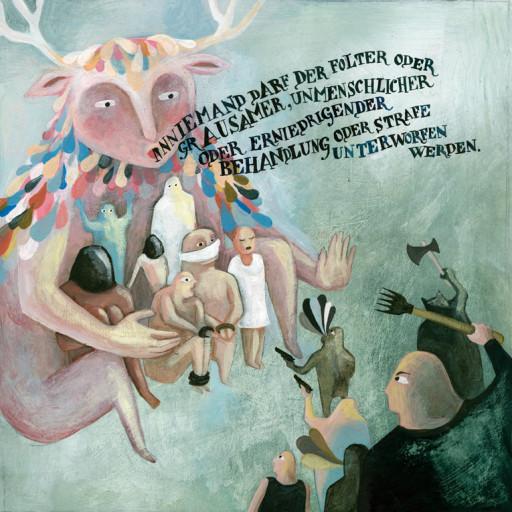 Elsa Klever Illustration Human Rights
