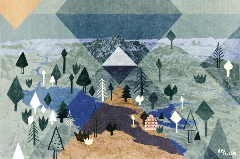 Elsa Klever Illustration Lake Constance