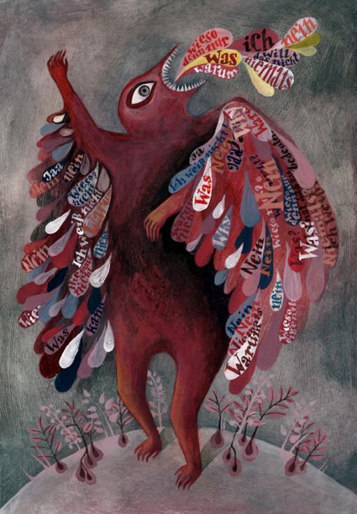 Elsa Klever Illustration Bestiarium