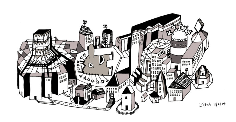 Elsa Klever Illustration Cities
