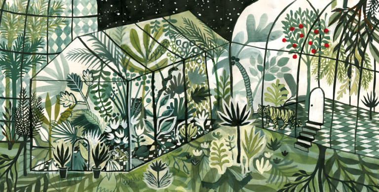 Elsa Klever Illustration Hortus