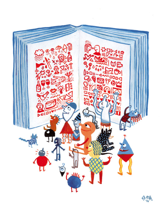 Elsa Klever Illustration BuchMarkt