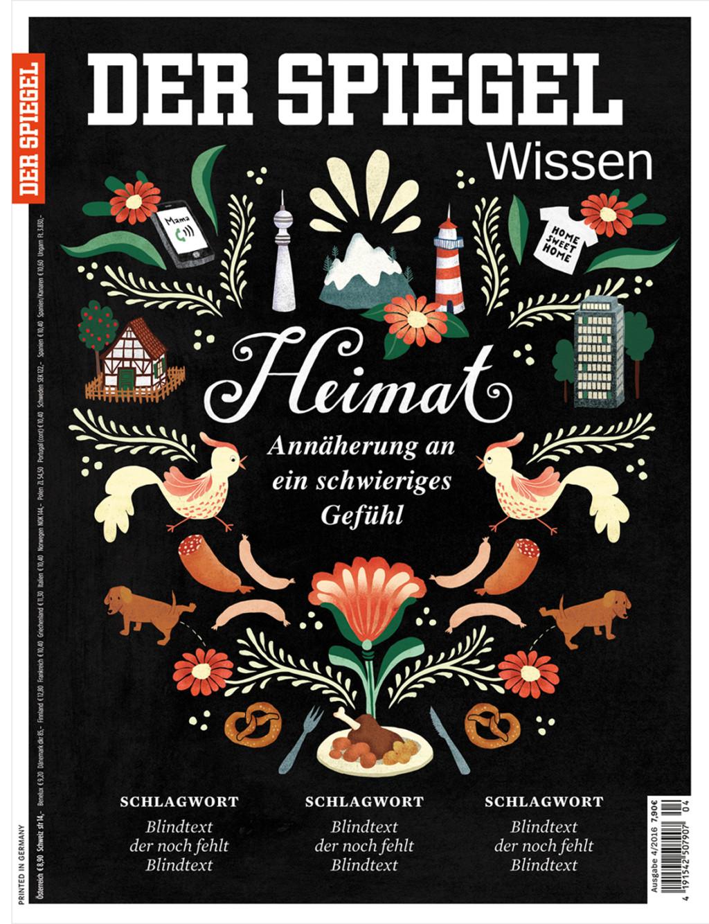 Elsa Klever Illustration Spiegel Wissen