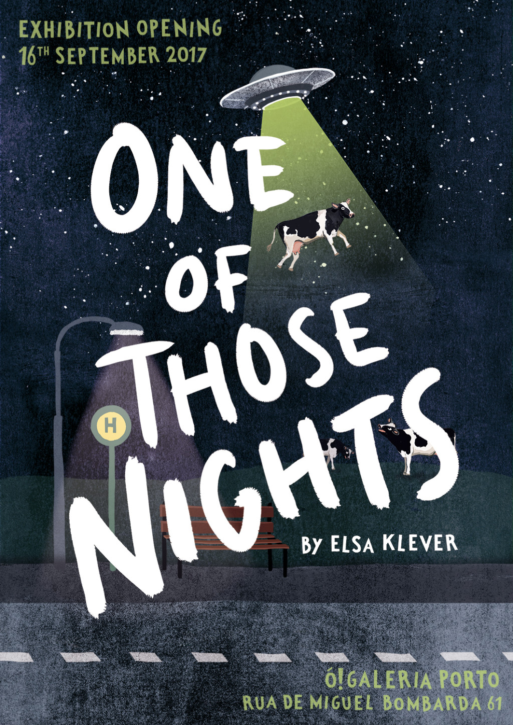 Elsa Klever Illustration One of those nights