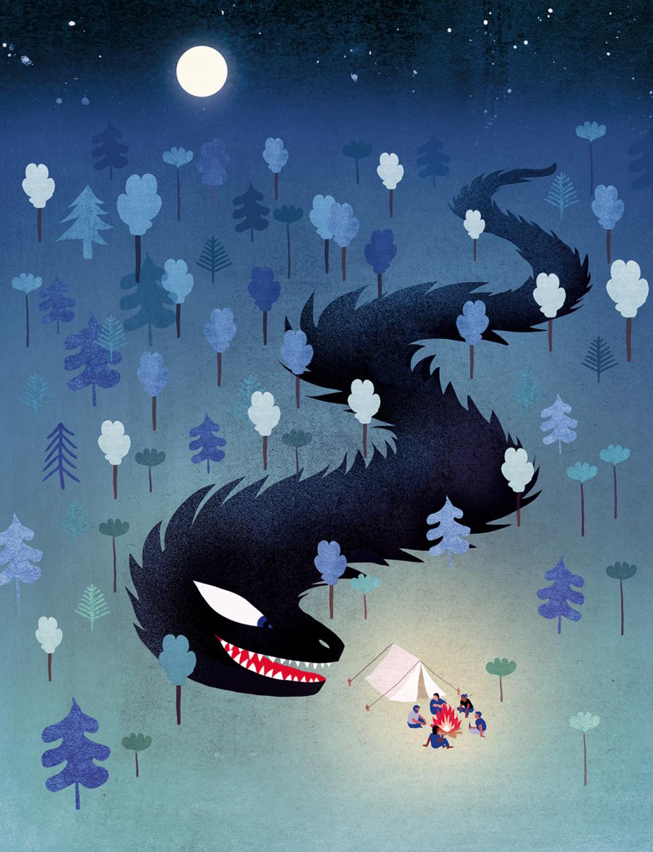 Elsa Klever Illustration One of those nights