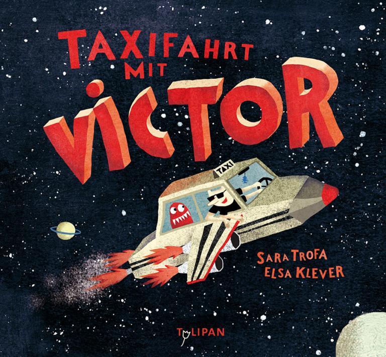 Elsa Klever Illustration Taxifahrt mit Victor