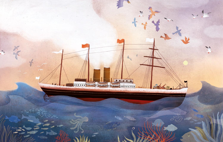 Elsa Klever Illustration Aladin